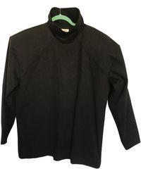 Vetements - Black Cotton Top - Lyst