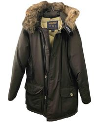 Woolrich Brown Cotton Coat
