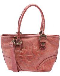 Belstaff Leather Handbag - Red