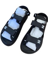 Chanel Dad Sandals Sandalen - Schwarz