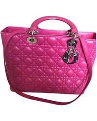 Dior Lady Leder Cross body tashe - Pink