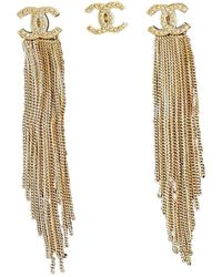 Chanel Gold Crystal Jewellery Sets - Multicolour