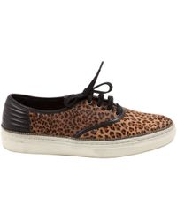 The Kooples - Pre-owned Pony-style Calfskin Trainers - Lyst