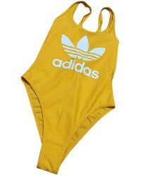adidas One-piece Swimsuit - Yellow