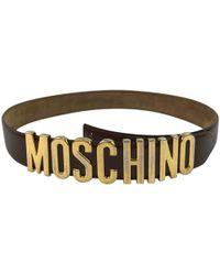 À découvrir   Ceintures Moschino femme à partir de 99 € 8c2b944a5ee