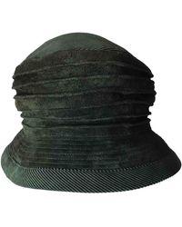 Hermès Hüte - Grün