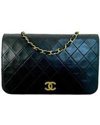 Chanel Sac à main en Cuir Noir - Multicolore