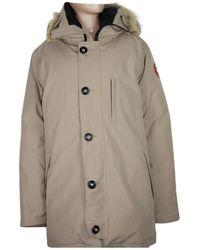 Canada Goose Mantel Polyester Beige - Natur