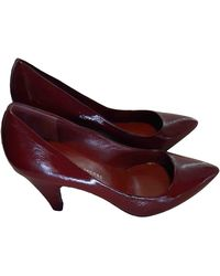 Marc By Marc Jacobs Patent Leather Heels - Red