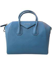 Givenchy Antigona Leder Handtaschen - Blau