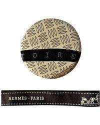 Hermès Spilla in seta multicolore