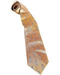 Vivienne Westwood Silk Tie - Metallic