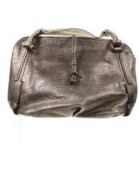 Celine Hobo Leather Handbag - Metallic