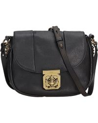 cec0be5ae567 Lyst - Chloé Elsie Small Chain Shoulder Bag in Black