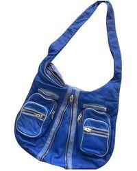 Alexander Wang Donna Leather Bag - Blue