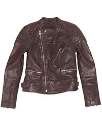 BLK DNM Other Leather Jacket - Brown