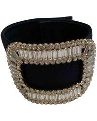Roger Vivier Silk Bracelet - Black