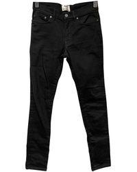 Acne Studios Slim jeans - Schwarz
