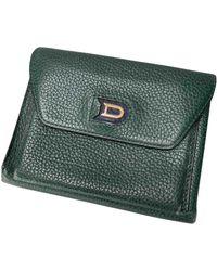 Delvaux Leather Wallet - Green