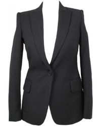 Stella McCartney - Black Wool Jacket - Lyst