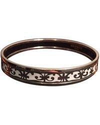 Hermès Bracelet Email Armbänder - Weiß