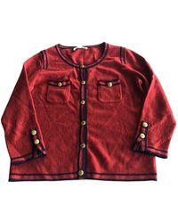 Sandro Red Wool Knitwear