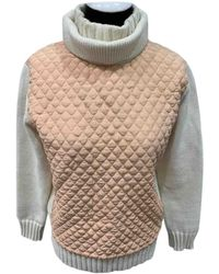 Chloé Wolle Pullover - Weiß