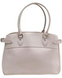 c59a8ac60a Lyst - Hermès Bag Birkin 40 Ecru Canvas And Leather Calf Epsom in Brown