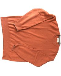 Brunello Cucinelli Cashmere Pull - Orange