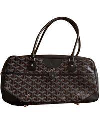 Goyard Cloth Handbag - Brown