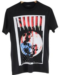 Givenchy - Pre-owned Black Cotton T-shirt - Lyst