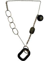 Roger Vivier Gold Metal Necklace - Metallic