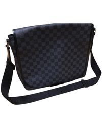 Louis Vuitton Bolsos en lona antracita Abbesses Messenger - Multicolor