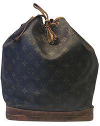 Louis Vuitton Noé Leinen Handtaschen - Mehrfarbig