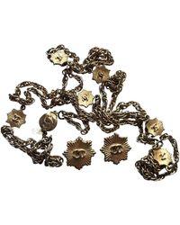 Chanel Parure in metallo dorato - Multicolore