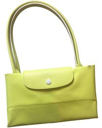 Longchamp Pliage Tote - Yellow