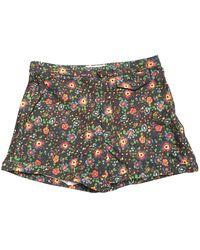 Étoile Isabel Marant Shorts en Coton Noir