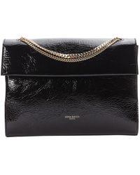 Nina Ricci \n Black Patent Leather Handbag