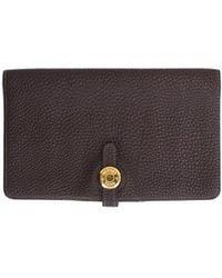 Hermès Dogon Leather Wallet - Brown