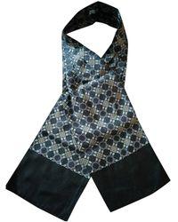 Hermès Chèches.Echarpes en Soie Marron - Multicolore