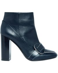 Tory Burch - Leather Boots - Lyst