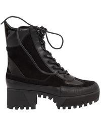 Louis Vuitton Boots Laureate en Suede Noir