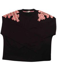 Carven - Top en Coton Multicolore - Lyst
