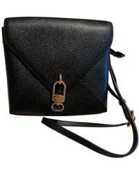 Delvaux Madame Mini Leather Crossbody Bag - Black