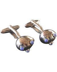 Lanvin Gemelli in metallo argentato - Metallizzato