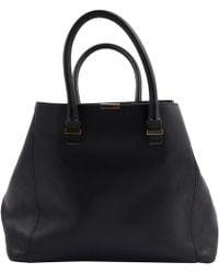 Victoria Beckham - Black Leather Handbag - Lyst