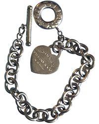 Tiffany & Co. Return To Tiffany Silver Silver Bracelet - Multicolor