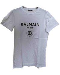 Balmain T-shirts - Weiß