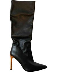 By Malene Birger Leather Boots - Black
