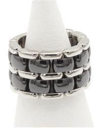 Chanel Ultra Silver White Gold Ring - Metallic
